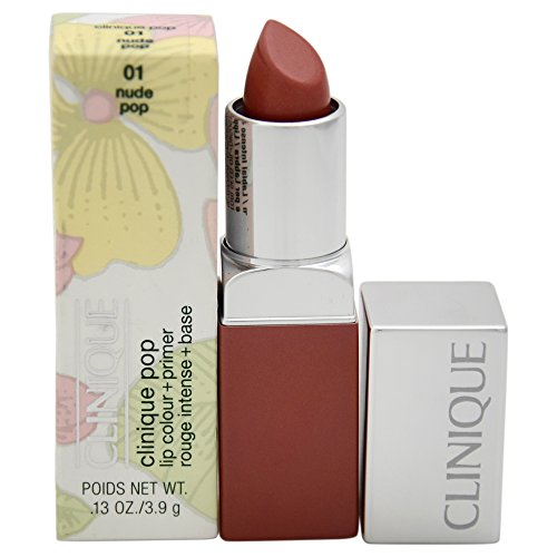 Clinique Rossetto, Pop Lip Color, 3.9 gr, 01-Nude Pop