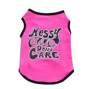Kolylong 2016 Mode Été mignon de chien Vest Puppy T-shirt