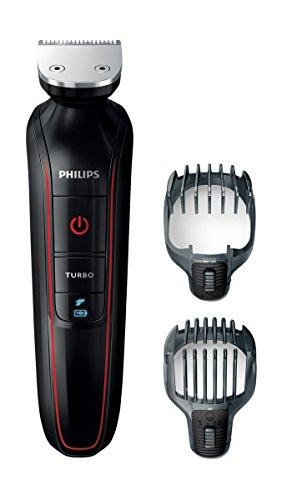 Philips Multigroom-Set Gesicht + Haar, 2 Aufsätze QG415/15, schwarz