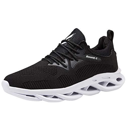 Sanahy Damen Herren Sneaker Laufschuhe Sportschuhe Turnschuhe Running Fitness Sneaker Outdoors Straßenlaufschuhe Sports Kletterschuhe -