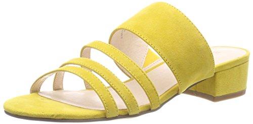 Bianco Damen Strap Sandal Pantoletten, Gelb (Yellow), 38 EU