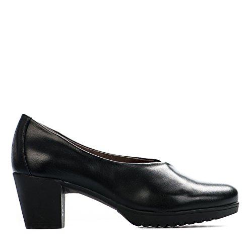 Chaussures de confort femme - PAULA URBAN - Noir - 19-105 - Millim