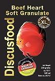 Beef Heart Softgranulate 230g, Rinderprotein als Trockenfutter, Hauptfutter, Fisch-Futter für Discus, Alleinfutter deckt den täglichen Bedarf, für alle Arten von Zierfischen, Körnungsgröße 1,8mm