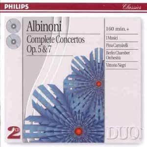 Albinoni: Complete Concertos, Opp.5 & 7