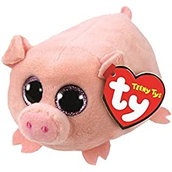 TY Teeny Tys Curly-Cerdito 10 cm (41248TY) (United Labels Ibérica