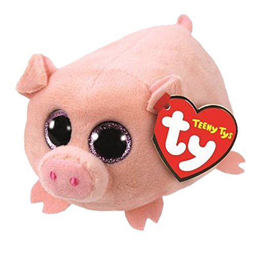 Teeny Ty Pig - Curly - 8cm 3""