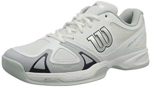 Wilson Wrs3222, Scarpe da tennis Uomo, Bianco (White / Pearl Blue / Navy Wil), 44 2/3 EU