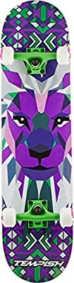 Unbekannt Tempish Lion Purple Skateboard, One Size