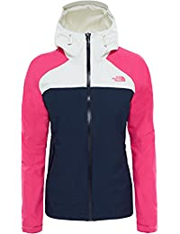 The North Face Stratos – Chaqueta Mujer, Mujer, color Urbnavy/Pettctpk/Vaprsgry, tamaño small