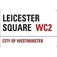 1art1® Londres - Leicester Square Vinilo Decorativo Pegatina Autoadhesivo (9 x 9cm)
