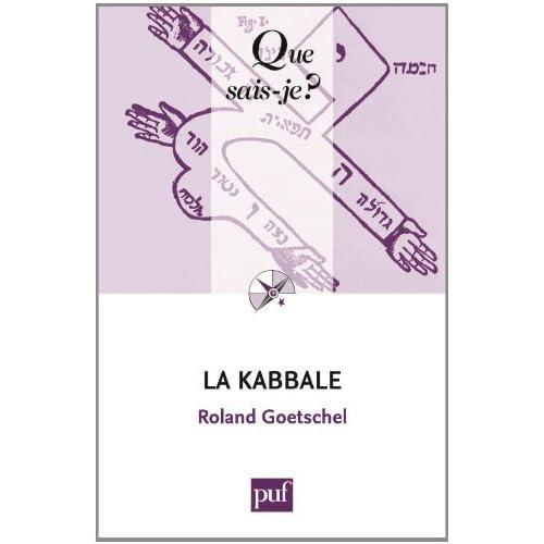La Kabbale by Roland Goetschel (2013-11-20)