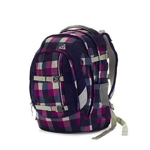 satch Pack Berry Carry, ergonomischer Schulrucksack, 30 Liter, Organisationstalent, Lila
