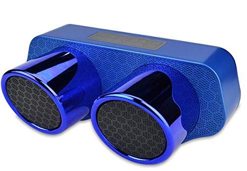 Altavoz Bluetooth de Moda 5W subwoofer de Altavoz Doble TWS para Entretenimiento...