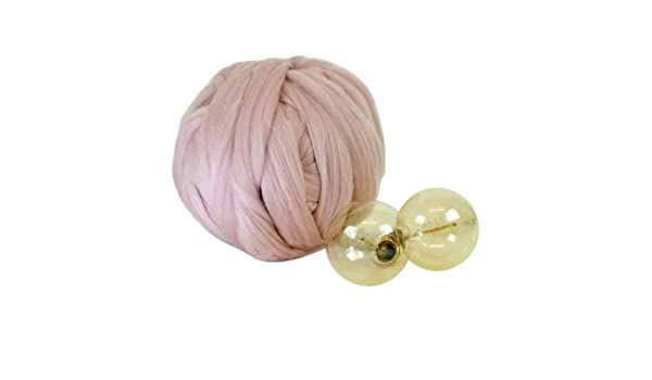 1kg Pink Mammoth® Giant Super Chunky Extreme Arm Knitting Crochet Big Yarn