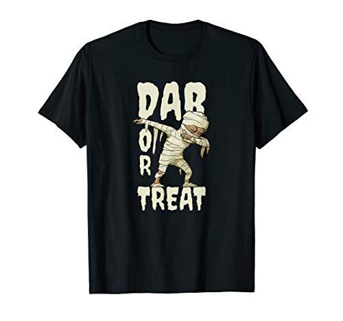 Dab Or Treat | Dabbing Mumie Hip-Hopper Lustiges Halloween (Hip Hop Tänzerin Kostüm Halloween)