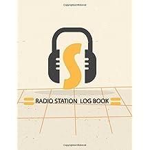 Radio Station Log Book : HAM : Log Book Journal : Headphones: (Centurion Logbooks/Record Books)
