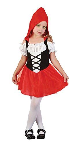 Mädchen-rot Kapuze Bonbon Kleinkind Kostüm für Märchen Rotkäppchen Kostüm Kinder