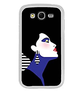 Fuson Emotions Romantic Girl Designer Back Case Cover for Samsung Galaxy Grand 2 :: Samsung Galaxy Grand 2 G7105 :: Samsung Galaxy Grand 2 G7102 :: Samsung Galaxy Grand Ii (Abstact Art Paint Painting Illustrations)