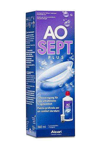Aosept Plus Kontaktlinsen-Pflegemittel, Einzelflasche, 1 x 360 ml