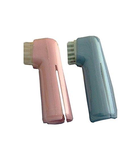 Spazzolini da dito Fortesan - Accessori per l'igiene orale del tuo amico a 4 zampe