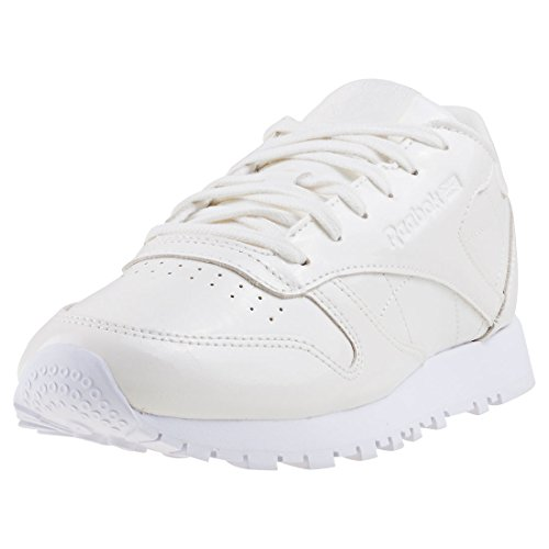 Reebok Classic Leather Patent, Baskets Femme Blanc Cassé (White White)