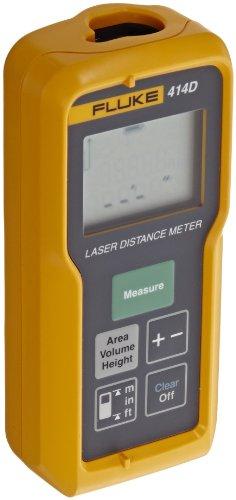 Fluke 414d Laser Distance Meter 50M Grey, Yellow–Distance meters (Laser Distance Meter, 50m, FT, M, 2mm, 6mm, 6cm)