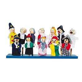 Goki SO399 Marionette da dito , Modelli/Colori Assortiti, 1 Pezzo