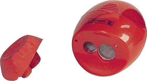 Brunnen 102987923 Dosenspitzer mit Radiergummi Colour Code (5,8 x 4,2 x 3,7 cm, Doppelspitzer) rot /...
