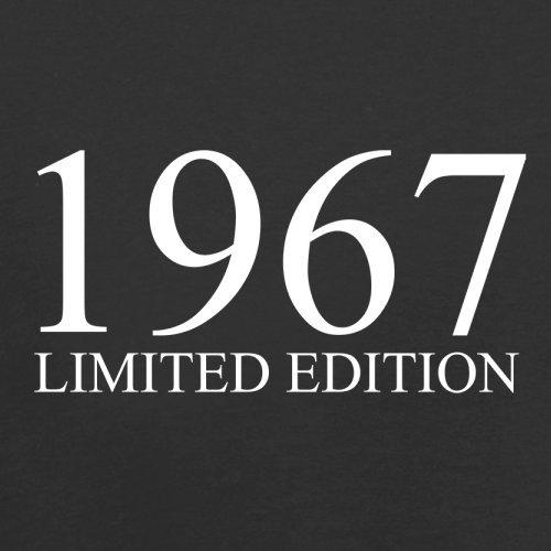 1967 Limierte Auflage/Limited Edition - 51. Geburtstag - Herren T-Shirt - 13 Farben Schwarz