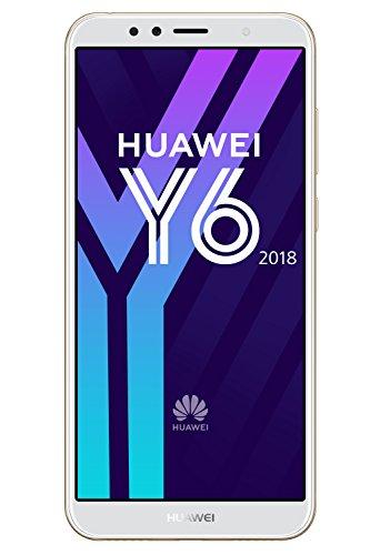 SIM Smartphone 14,5 cm (5,7 Zoll) (3000mAh Akku, 16 GB interner Speicher, Android 8.0) gold ()