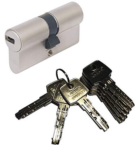 ABUS EC550 Profil-Doppelzylinder Länge (a/b) 35/40mm (c=75mm) mit 8 Schlüssel