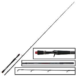 Fox Rage Prism Power Fishing Cast Rod 221cm 10–35g–Spin Canne à pêche avec Trigger poignée, Canne à pêche pour Swimbaits & poisson en caoutchouc, Sandre Canne à pêche