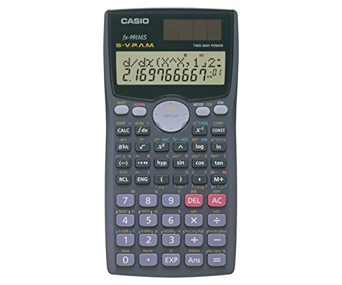 Casio FX-991MS Scientific Calculator (Grey)