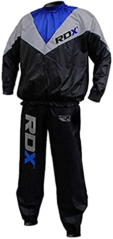 RDX Non Rip MMA Sauna Sweat Suit Track Weight Loss