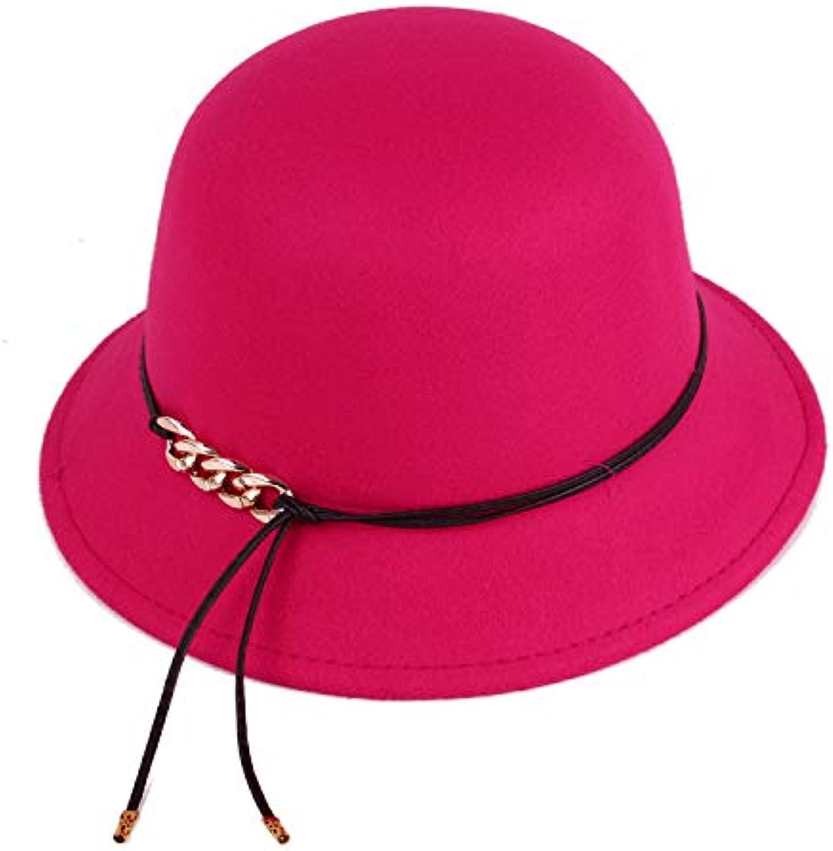 HHMZ da Cappello da HHMZ Donna in Cotone E Cappello da Donna con Cappello  Piccolo Moda Autunno E Inverno 21a78e218e94