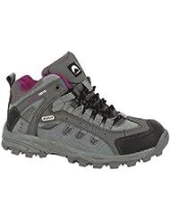 Elementerre - Zapatillas de senderismo para mujer