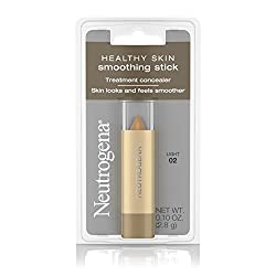 Neutrogena Healthy Skin Smoothing Stick Treatment Concealer, Light 02, 0.10 Ounce (Pack Of 2)