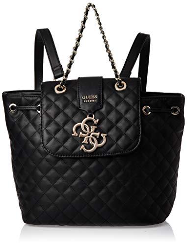 Guess Borsa zaino mod. Miriam backpack in ecopelle trapuntata nero donna B20GU59