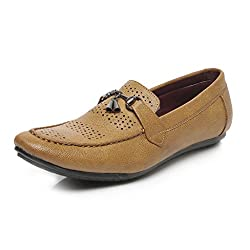 TEN Tan Loafers for Men (6)