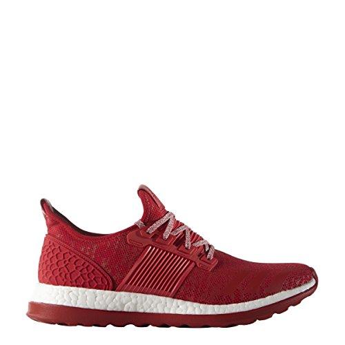 Adidas Performance da uomo scarpe da corsa Pureboost ZG Scarlet/Light Scarlet/White