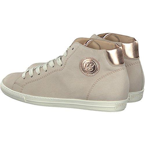 Paul Green  1167-689, Chaussures de ville à lacets pour femme Taupe