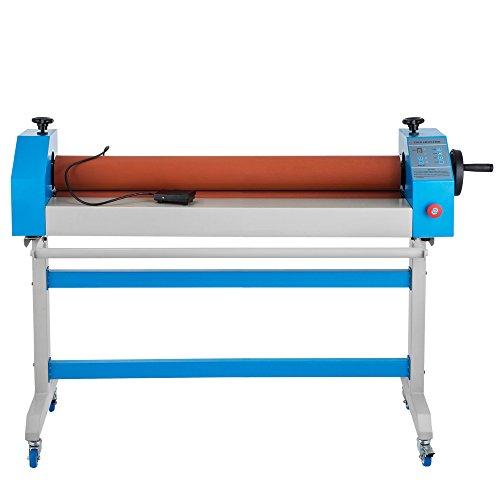 Buoqua laminatrice a freddo manuale con carrello a 4 ruote 1600mm plastificatrice a freddo manuale laminatore 1600mm gomma morbida e alla superficie liscia (ts1600)
