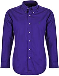 Ralph Lauren Camisa para Hombre de Piel Color Morado f2d3e7f46ed