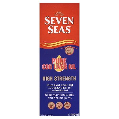 Artikelbild: Seven Seas High Strength Cod Liver Oil 450ml