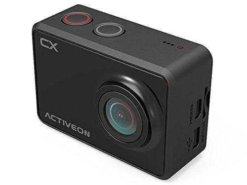 ACTIVEON CX Videocamera, 5 MP, 1080p/30fps, Nero