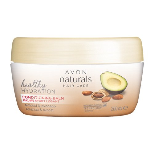 Avon Naturals Conditioning Balm, Mandel- und Avocado 200 ml