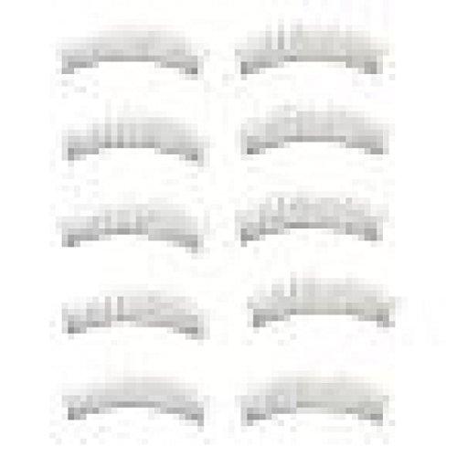 Zolimx 10 Paare Lange dicke weiche handgemachte gefälschte falsche Wimpern Make up Erweiterungen