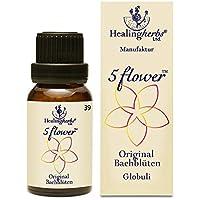 Healing Herbs Bachblüten 5 Flower Globuli, 15 g preisvergleich bei billige-tabletten.eu