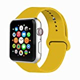 VIKATech Correa de Repuesto Compatible con Apple Watch de 44 mm, 42 mm, 40 mm,...