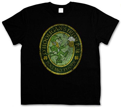 O´HOOLIGANS IRISH PUB VINTAGE T-SHIRT - Ireland Irland Belfast Dublin Beer Shirt Größen S - 5XL (M)